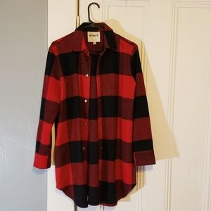 BB Dakota Plaid coat S